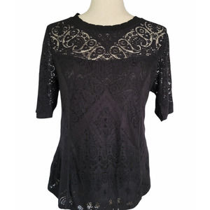 Laundry by Shelli Segal Lace Blouse